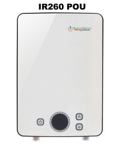 SioGreen IR-260 POU Infrared Electric Tankless Water Heater, 220v, 6.0 kw, 30 amps.