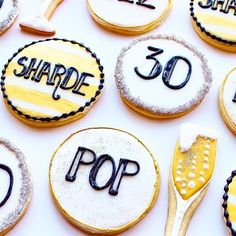 Birthday cookie inspiration [Check out our Birthday Cookie Cutter Pack ] @mindysbakeshop #cookiecutterkingdom