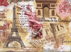 Masterpiece of Art: From Paris with Love Decoupage Vintage, Vintage Diy, Vintage Labels, Vintage Postcards, Vintage Paris, Tour Eiffel, Paris Eiffel Tower, Vintage Pictures, Vintage Images