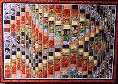 Out Of Africa - bargello