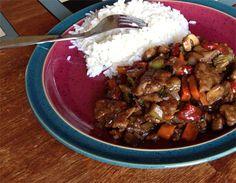 Wendy's Ginger Beef Stir-Fry