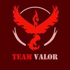 Team Valor Pokemon Go