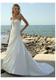 strapless wedding dress, #wedding #dress