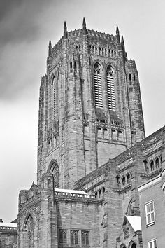 My grandfather worked on the construction of the biggest cathedral in the UK Liverpool Cathedral, Liverpool Town, Liverpool England, Around The World In 80 Days, Places Around The World, Around The Worlds, British Travel, Anglican Church, Holiday Places