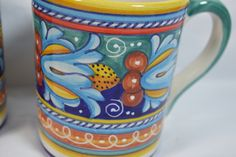 Unique gifts that make a difference available at My Italian Décor! Try easy gift giving by purchasing Deruta Ceramic Mug, Blue Moon Jelly only at a price of $ 49.00. Buy it today!