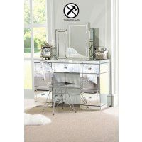 VALERIA Toughened Mirrored Dressing Table