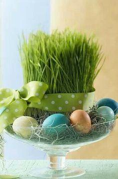Húsvéti asztal dekor