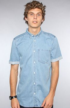 WeSC The Eric SS Buttondown Shirt in Heckneyed : Karmaloop.com - Global Concrete Culture