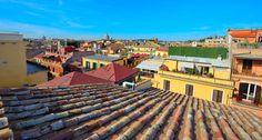 Roof garden in Rome Rome, Madrid, Mansions, House Styles, Garden, Decor, Garten, Decoration, Manor Houses