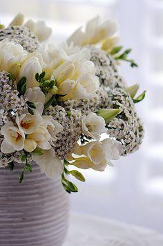 Floral Arrangement ~ white