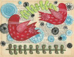 Beautiful paper art by Jennifer Judd McGee