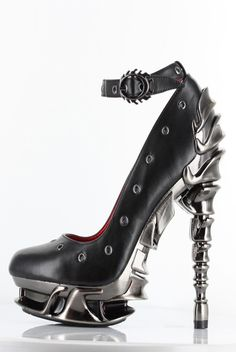 Hades Shoes - Zephyr - Black Heel