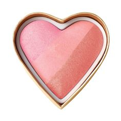 This heart shaped blush is perfect for any skin tone. Blend Sweetheart Perfect Flush blush swatches together or use each individually for custom color.