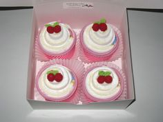 Diaper Cupcakes,