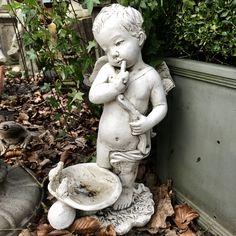 Putto bij Walden Woods   Garden Statue   Pinterest   Garden statues