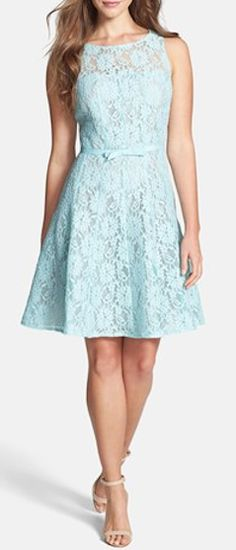 Lace Fit & Flare Dress http://rstyle.me/n/jk7u9nyg6
