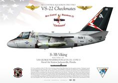 "UNITED STATES NAVY SEA CONTROL SQUADRON TWO TWO (VS-22) ""Checkmates"" USS GEORGE WASHINGTON (CVN-73) / CVW-17 Naval Air Station Jacksonville, Florida"