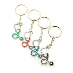 NEW  stethoscope key rings #ScrubsandClogs #Accessories