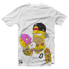 OBBIUZ clothing Bad homer IDR. 150 K  #thesimpson #simpson #homer #tee #cloth #cartoon #hat #donut #tattoo