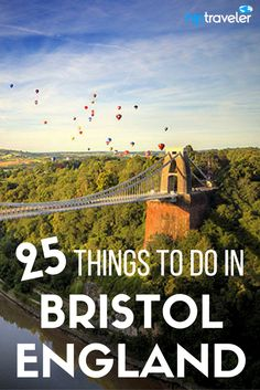 25 of the best things to do in Bristol, England. A comprehensive travel itinerary including practical tips on where to stay, what to eat and drink + best places to photograph this city. | Blog by HipTraveler: Bookable Travel Stories from the World's Top Travelers