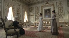 Wives and Daughters- Wentworth Woodhouse sitting room