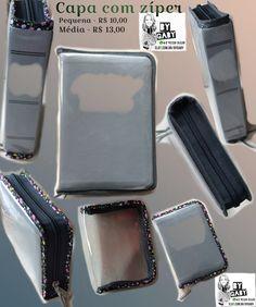 Capa para Bíblia de plástico transparente D20 com viés a sua escolha.