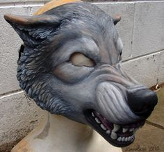 Hey~ Halloween's over and the mask got a new owner- so I'm uploading some pics It's a furred resin-mask with a moving jaw- custom made to fit the owners face^^ It was a birthday present for a fried...