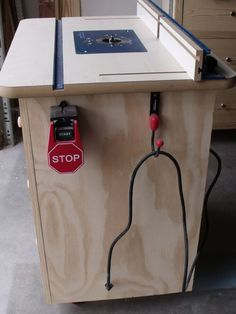 Ana White   Build a Patrick's Router Table   Free and Easy DIY Project and Furniture Plans