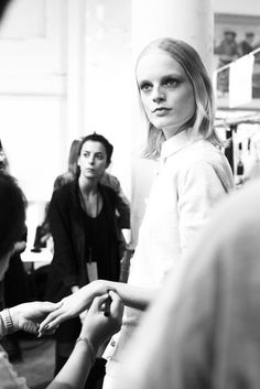 Sacai. Scenes from the Paris fashion week photo diary of Sonny Vandevelde.