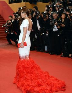 A dress to die for!! Cheryl Cole at Cannes 2013