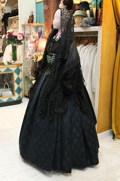 Gothic Gowns, Spanish Style, Feminine, Formal Dresses, Skirts, Murcia, Memories, Ideas, Fashion