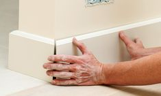 Baseboard molding is the perfect way to enhance the overall look of the room. It instantly adds a… The post How to Install Baseboard appeared first on Don Pedro. Baseboard Molding, Shoe Molding, Moldings, Decorating Tips, Decorating Your Home, How To Install Baseboards, Finish Nailer, Home Decor Hacks, Farmhouse Ideas