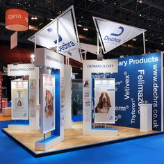 Dechra vetrinary products trade show stand by Aboveline #exhibition #tradeshow…
