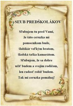 sľub predškolákov Psalms 46 1, Diy And Crafts, Crafts For Kids, Holidays And Events, Kindergarten, Homeschool, Poems, Classroom, Teacher