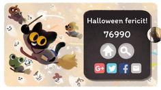 google halloween game halloween games halloween 2017 google doodles pac man change 3 gaming cat animation