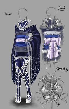 Custom Outfit - 3 by LotusLumino on DeviantArt