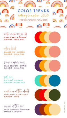 Spring Summer 2020 Pantone Colors Trends – Erika Firm, … added to our site quickly. hello sunset today we share Spring Summer 2020 Pantone Colors Trends – Erika Firm, … photos of you among the popular hair designs. You can look at all images and … Colour Pallete, Color Combos, Three Color Combinations, Pantone Color Chart, Color Charts, Color Mood Chart, Scarlet, Pantone 2020, 2020 Fashion Trends