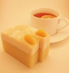 Earl Grey with Lemon  handmade cold process by PearlyQueenSoapery, $6.50