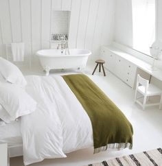 Steal This Look: Ilse Crawford Shaker-Inspired Bedroom