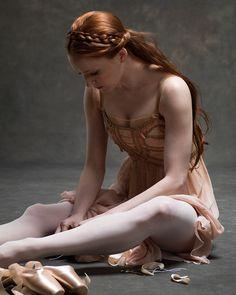 blogdaniballet: kafkasapartment: Gillian Murphy, Principal dancer, American Ballet Theatre by Ken Browar and Deborah Ory. M Kitty Dancer