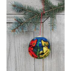 Christmas in July, Christmas tree ornament, large felted Christmas... ($25) ❤ liked on Polyvore featuring home, home decor, holiday decorations, xmas tree ornaments, christmas ornaments, xmas ornaments, holiday ornament and holiday christmas ornaments