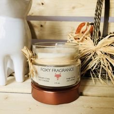 Creamy Chai Soy Candle – foxybrand Soy Candles, Candle Jars, Fragrance Oil, Chai, Spices, Masala Chai