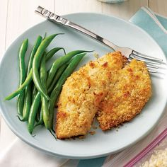 Breaded Baked Tilapia Recipe -So much flavor…so few ingredients! A quick and easy crumb coating makes this yummy tilapia recipe ideal for busy weeknights. Try the breading on cod for a change of pace. —Brandi Castillo, Santa Maria, California