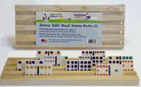 Wood Racks - Made in the USA Mexican Train Dominoes, Wood Rack, Play, Games, People, Wood Shelf, Wood Mantel Shelf, Gaming, People Illustration