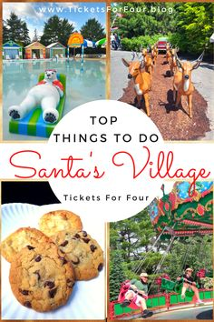 Top Things To Do In Santa's Village: Santa's Village in Jefferson, NH is a family theme park. Santa's Village is one of the best places to visit in White Mountains, New Hampshire with kids! We compiled a list of our Top Things To Do In Santa's Village so you don't have to miss a thing while visiting! #ThingsToDoInSanta'sVillage #WhatToDoWithKidsInNewHampshire #WhatToDoWithKidsInWhitemoutainsNH #BestThemeParksInU.S.A. Travel With Kids, Travel Usa, Family Travel, Family Destinations, Bucket List Destinations, Santa's Village, Family World, Family Theme, Travel Reviews