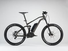 Philippe Starck's Electric Mountain Bikes Boost You Up Hills in Style   The dual suspension frame, 26-inch rims, and saddle made by Fzik should keep the rider comfortable even in the most pothole-riddled areas.   Starck Network    WIRED.com
