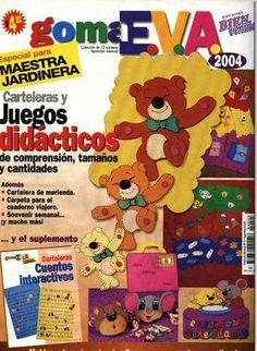 Revista Maestra Jardinera - Goma EVA - 2004 - Helck Oliveira - Picasa Web Albums