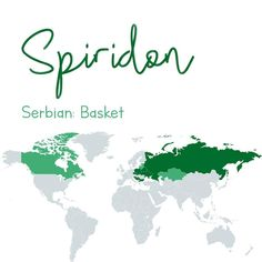 Spiridon 🎒 this #Serbian name derives from the #Greek #Spyridon often shortened to #Spryro or #Spyros it is thought to have originated from the word spyridion which is a #basket 🤷‍♂️ others believe it...