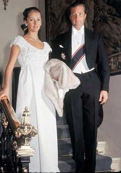 royalwatcher:  Paola and Albert of Belgium when they were Duke and Duchess of Brabant