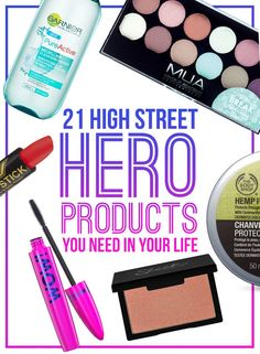 We asked followers of the BuzzFeed Community to tell us their best budget beauty tip. Here are their recommendations. | 21 High Street Hero Products You Need In Your Life